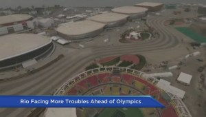 One month to the podium, new problems reported in Rio