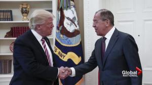 Trump defends decision to share classified information with Russia