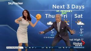 Dodgeball time! Mike and Daintre get active on Global News Morning