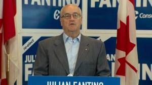 Fantino criticizes Trudeau's comments on mandatory minimum sentences