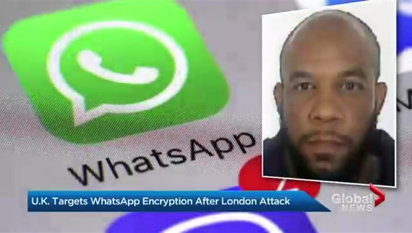 'WhatsApp encryption helps terrorists communicate safely'
