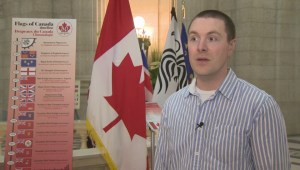 Canadian flag celebrates its 50th birthday