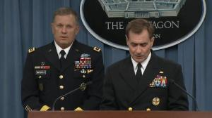 Pentagon says anti-ISIS airstrikes are 'only the beginning'