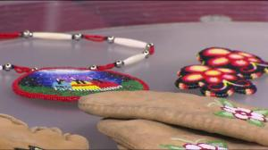 Pop-up school in Victoria reviving the traditional art of moccassins