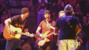 Toronto U2 tribute band gets 'dream of a lifetime' to play onstage with idols