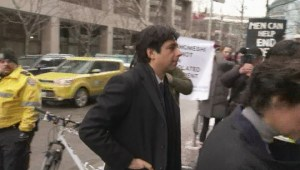 Jian Ghomeshi arrives for court as Crown hears testimony from 4th alleged witness