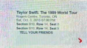 Woman upset after Ticketmaster cancels tickets for Taylor Swift concert