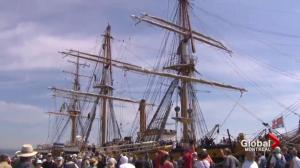 Amerigo Vespucci arrives in Quebec City