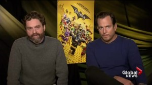 Will Arnett and Zach Galifinakis talk LEGO Batman