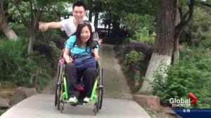 Edmonton woman has dream granted on popular TV show in China