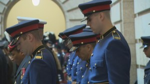 Memorial Service honors fallen officers.