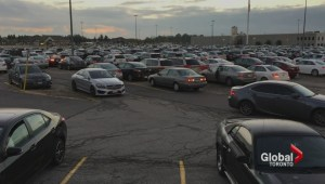 Safety concerns at Rutherford GO station as commuters fight for unreserved parking spots