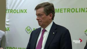 Toronto mayor says taxi strike won't 'achieve anything'