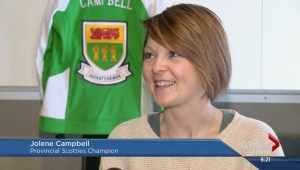 Campbell talks about Saskatchewan Scotties win