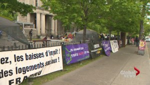 Tent city to protest lack of affordable housing