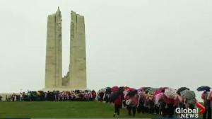 Local high school student won award through Vimy Foundation