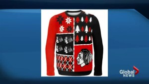 Reginans ring in Ugly Christmas Sweater Day