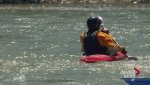Dispute over Bow River access