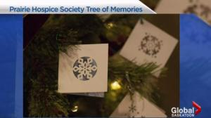 Prairie Hospice Society tree of memories