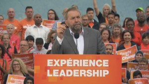 Tom Mulcair aims to close tax loophole for stock options