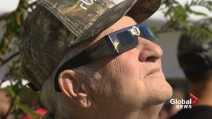 'Looks like Pacman!': Calgarians enjoy solar eclipse
