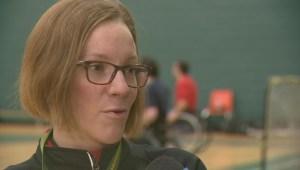 Aspiring athletes game to try parasports in Regina