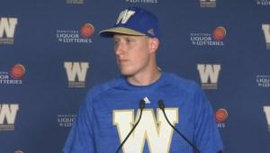RAW: Winnipeg Blue Bombers Drew Willy – June 23