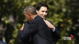 Trudeau receives warm welcome at White House