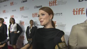 "TIFF Red Carpet: Actor Julianne Moore from the film ""Maps to the Stars"""