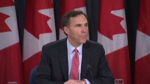 Finance minister announces tax cut for middle class, reduction to TFSA limit