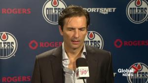 Eakins discusses his family's reaction and getting the news