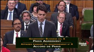 PM Trudeau: There's no hiding from climate change