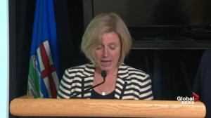 Alberta premier Rachel Notley says every available resource has been routed to help with wildfire