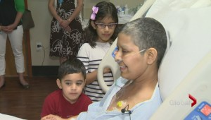 Mother hopes alternative cancer treatment gives her more time with family