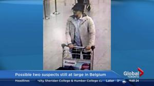 Pair of possible Brussels attack suspects still at large