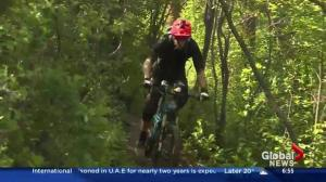 Learning the ins and outs of mountain biking