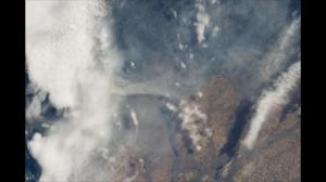 Astronaut aboard ISS captures beautiful images of wildfire in Pacific Northwest