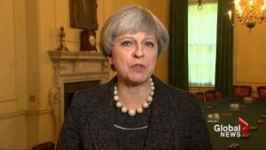 Theresa May says terror threat level will remain at critical