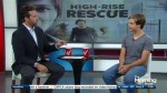 "Sam Ashe Arnold goes on a ""High Rise Rescue"""