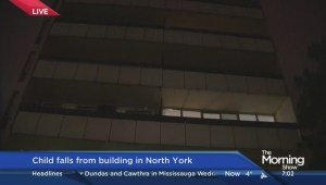 Boy seriously injured from Toronto apartment balcony fall