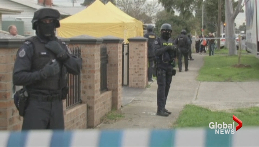 Far-right group member arrested during Vic terror raids