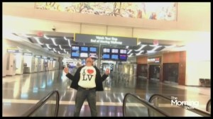 Canadian man shoots music video inside empty Las Vegas airport