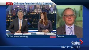 University of Alberta director discusses China premier's Canada visit