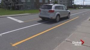 Bike path confusion