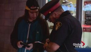 Walk-along with Saskatoon police