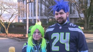 BC Seahawks fans give us their best team cheer