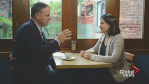 Coffee with a candidate: New mom and MP-hopeful Christine Poirier
