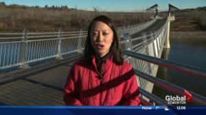 Terwillegar footbridge provides more connectivity in Edmonton's river valley