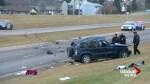 Fatal crash along McKnight Boulevard in northeast Calgary