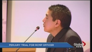 Police officer charged with perjury